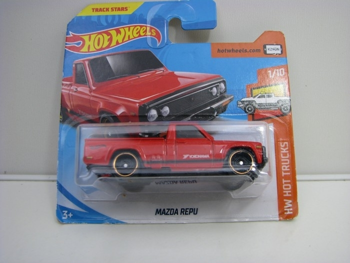 Mazda Repu Red Hot Wheels Hot Tucks-2018-FJW54